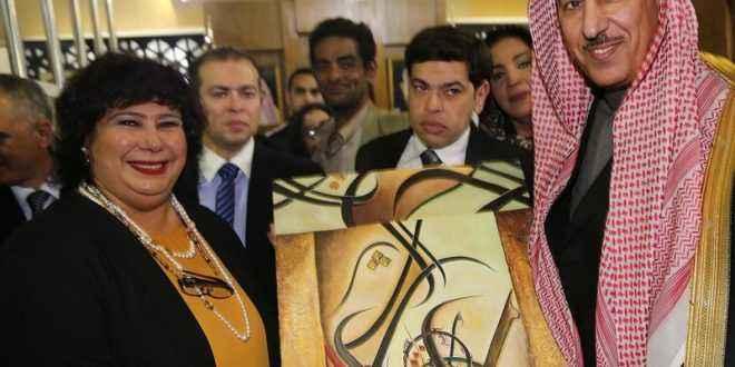 وزيرة الثقافة تزور جناح المملكة العربية السعودية بمعرض القاهرة الدولي الكتاب