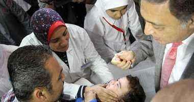 وزير الصحة يطلق الحملة القومية ضد شلل الأطفال بتكلفة 84 مليون جنيه