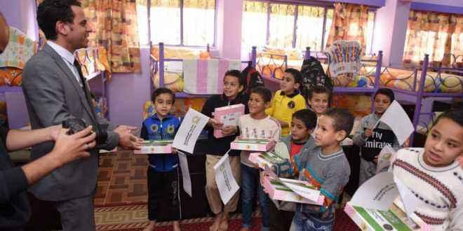 """""""أندية وفنادق الشرطة"""" تقيم احتفالات للأطفال الأيتام وذوى القدرات الخاصة على مستوى الجمهورية"""