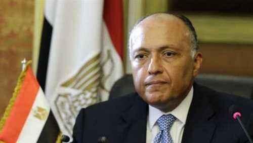 وزير الخارجية : سنمضى بكل جدية فى اقتلاع جذور الإرهاب من مصر
