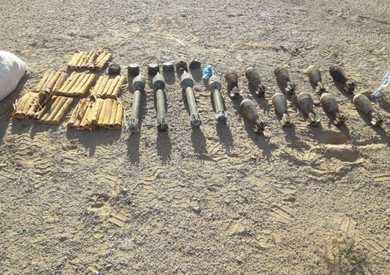 المتحدث العسكري : تدمير مخزن ذخائر و 16 وكرا خاص بالعناصر التكفيرية وسط سيناء
