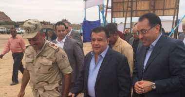 وزير الإسكان: جار تنفيذ مشروعات تنموية وخدمية في جنوب سيناء باستثمارات مليار جنيه