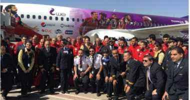 بعثة المنتخب الوطني الأول لكرة القدم تتوجه إلى سويسرا