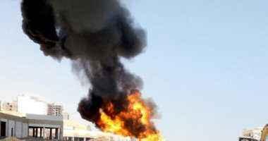 مصرع ثلاثة عمال وإصابة أربعة آخرين في حريق بخط غاز بالعين السخنة بالسويس