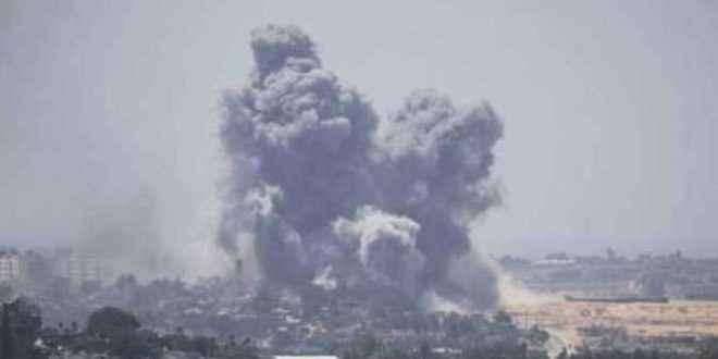 مدفعية الاحتلال الإسرائيلي تقصف الأراضي الزراعية شرق قطاع غزة