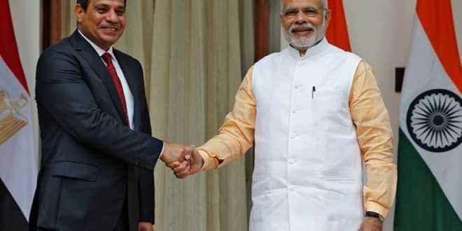 """""""التمثيل التجاري"""":ارتفاع حجم التبادل التجاري بين مصر والهند إلى ٥ر٣ مليار دولار في ٢٠١٧"""