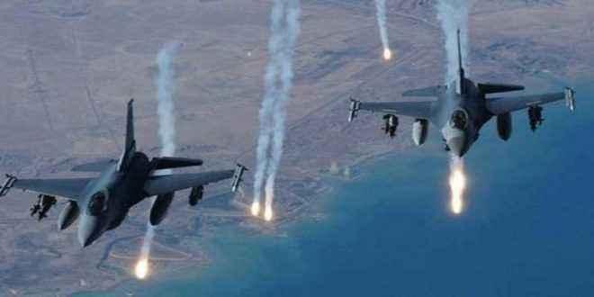 """القوة الجوية العراقية توجه ضربة لتنظيم """"داعش"""" الإرهابي في سوريا"""