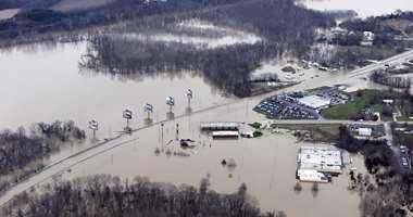اعلان حالة الطوارئ فى ولاية ألينوى جراء الفيضانات والسيول