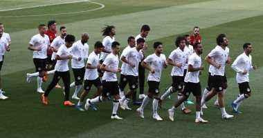 محمد صلاح يبدأ التدريب البدنى استعداداً لأوروجواى