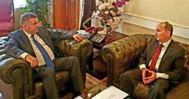 وزير قطاع الأعمال يبحث مع وزير التجارة والصناعة سبل تعزيز التعاون المشترك