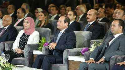 """الرئيس السيسي يشهد فعاليات جلسة """"تطوير منظومة التأمين الصحي"""" بمؤتمر الشباب"""
