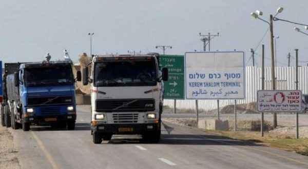 إسرائيل ترفع القيود على إدخال البضائع لقطاع غزة