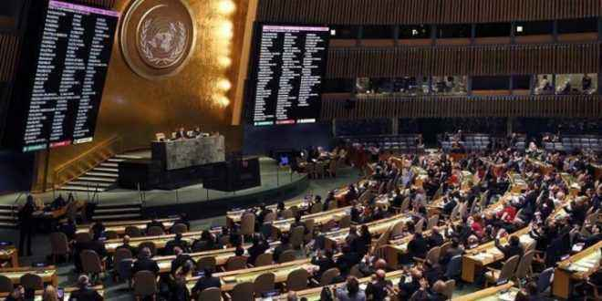 أعضاء الجمعية العامة للأمم المتحدة يضحكون خلال كلمة «ترامب».. والأخير: لم أتوقع ذلك