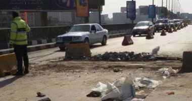 إغلاق طريق الإسكندرية الزراعى جزئيا 20 يوما لإصلاح فواصل كوبرى إيتاى البارود