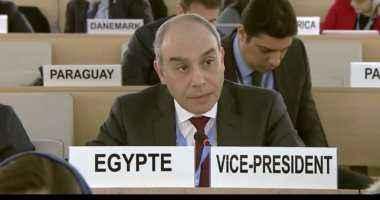 السفير علاء يوسف يستعرض جهود مصر لتعزيز الاستثمار أمام منتدى عالمى فى جنيف