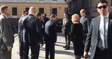 الرئيس السيسى يغادر مقر المجلس الفيدرالى الروسى