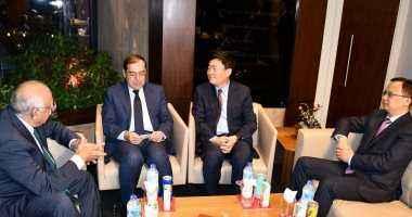وزير البترول يبحث خطة المجموعة الصينية للاستثمار للعمل فى مصر