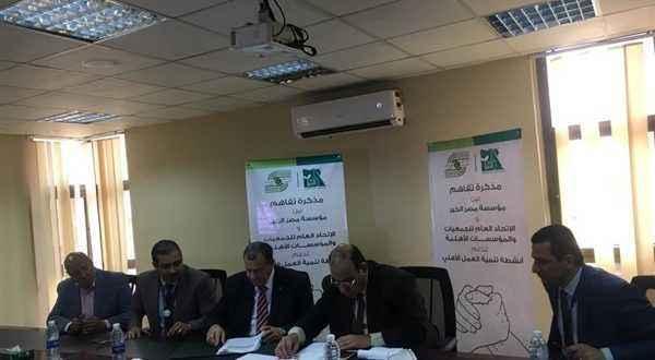 """""""مصر الخير"""": نتعاون مع أكثر من 2000 جمعية أهلية لخدمة المجتمع"""