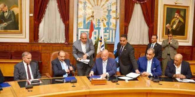 بروتوكول تعاون بين محافظة القاهرة وبنك التنمية الصناعية لتطوير ورش شق الثعبان
