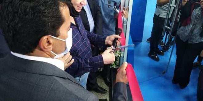 وزير الرياضة يفتتح المنشآت الجديدة بالزمالك