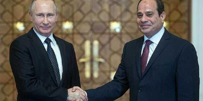 العلاقات بين مصر وروسيا تزداد قوة بالتزامن مع الاحتفال غدا الأربعاء بالذكرى الـ77 لتأسيس العلاقات الدبلوماسية بين البلدين
