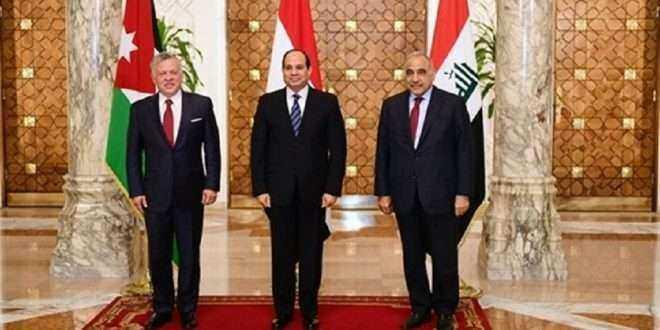 الرئيس السيسي عن القمة الثلاثية: سعدت بلقائي مع أخي الملك عبد الله الثاني والكاظمي