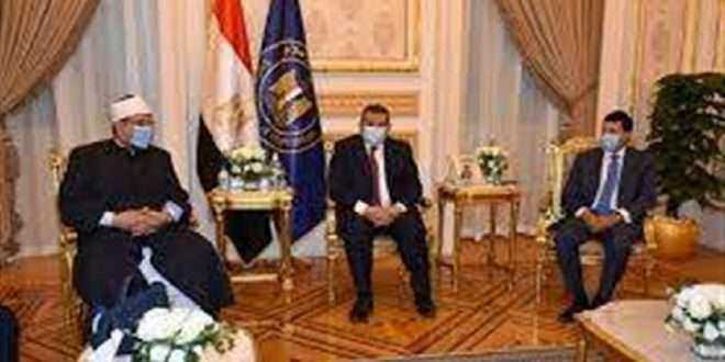 وزراء الشباب والرياضة والأوقاف والإعلام يناقشون سبل إطلاق مبادرة بناء الشخصية المصرية
